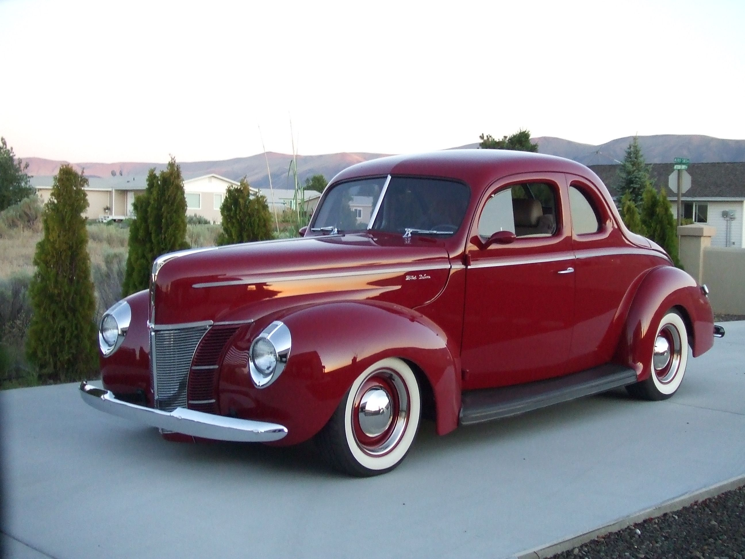 1940 Ford Coupe Ford Classic Cars Classic Cars Trucks Old