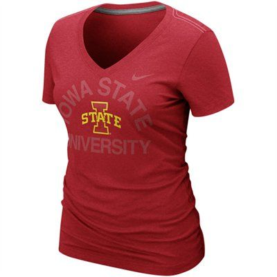 Iowa State Cyclones Women S Graphic Blended V Neck T Shirt Iowa State Cyclones Athletic Tank Tops Iowa State