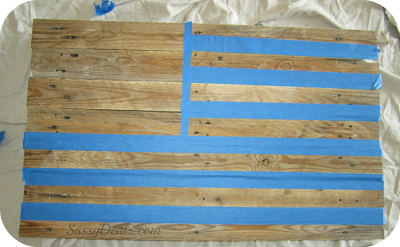 Photo of DIY: How To Make an American Flag out of a Wood Pallet (Step by Step Tutorial w/ Pictures) – Crafty Morning