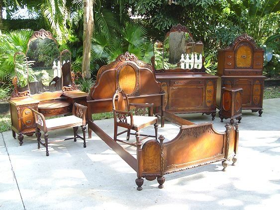 Bedroom Furniture Styles 1920's mahogany bedroom set | styles for our new home | pinterest