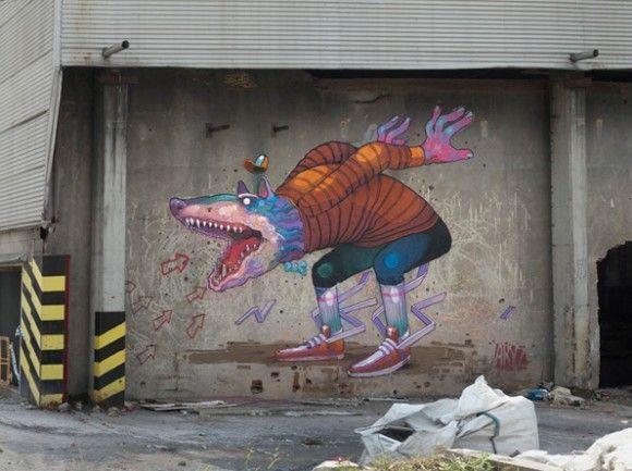 street art aryz - Recherche Google