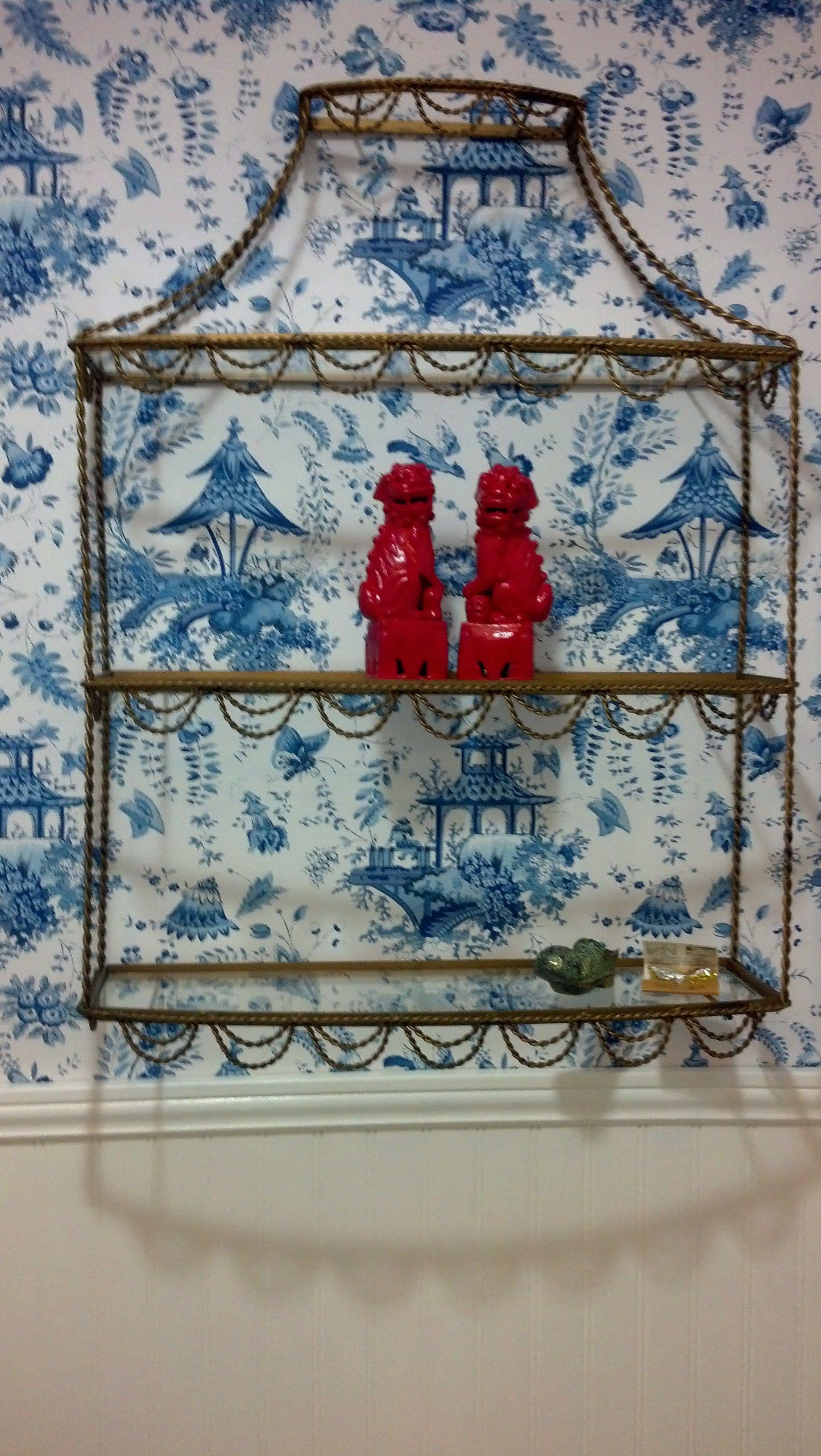 Powder Room Pagoda Shelf