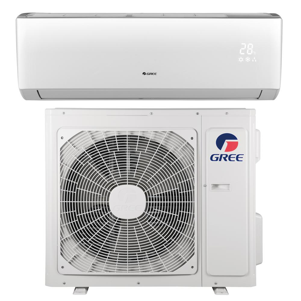 Livo 22000 Btu Ductless Mini Split Air Conditioner With Inverter Heat In 2020 Ductless Mini Split Ductless Heat Pump System