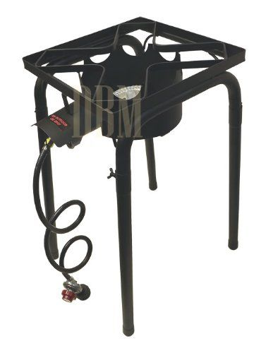 Portable Tall High Pressure Propane Bbq Gas Stove Burner Cook Cooking With Stand More Info Could Be Found Gas Stove Burner Stove Accessories Camping Stove