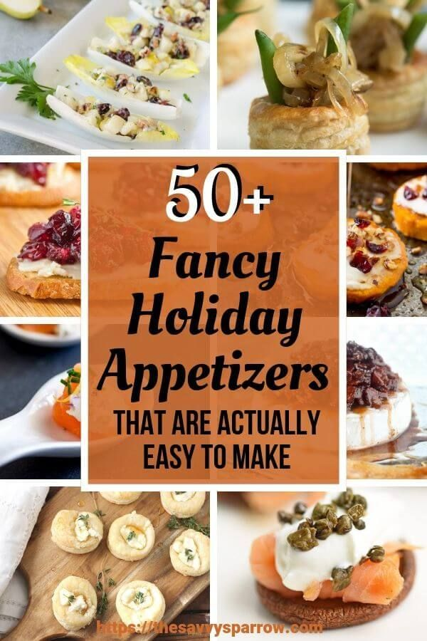 Photo of 50+ Elegant Holiday Appetizers that are Actually Easy to Make