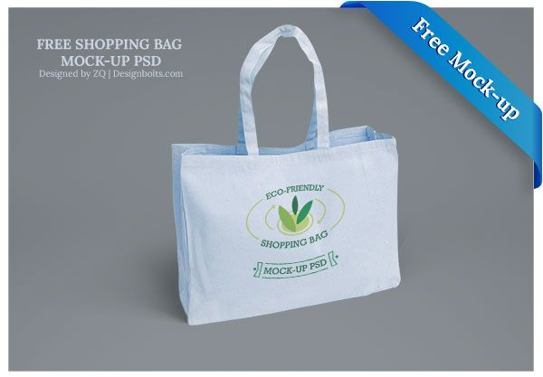 free eco friendly shopping bag mock up psd files psd mockup