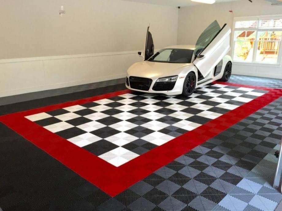 27 Awesome Garage Flooring Designs Garage floor tiles