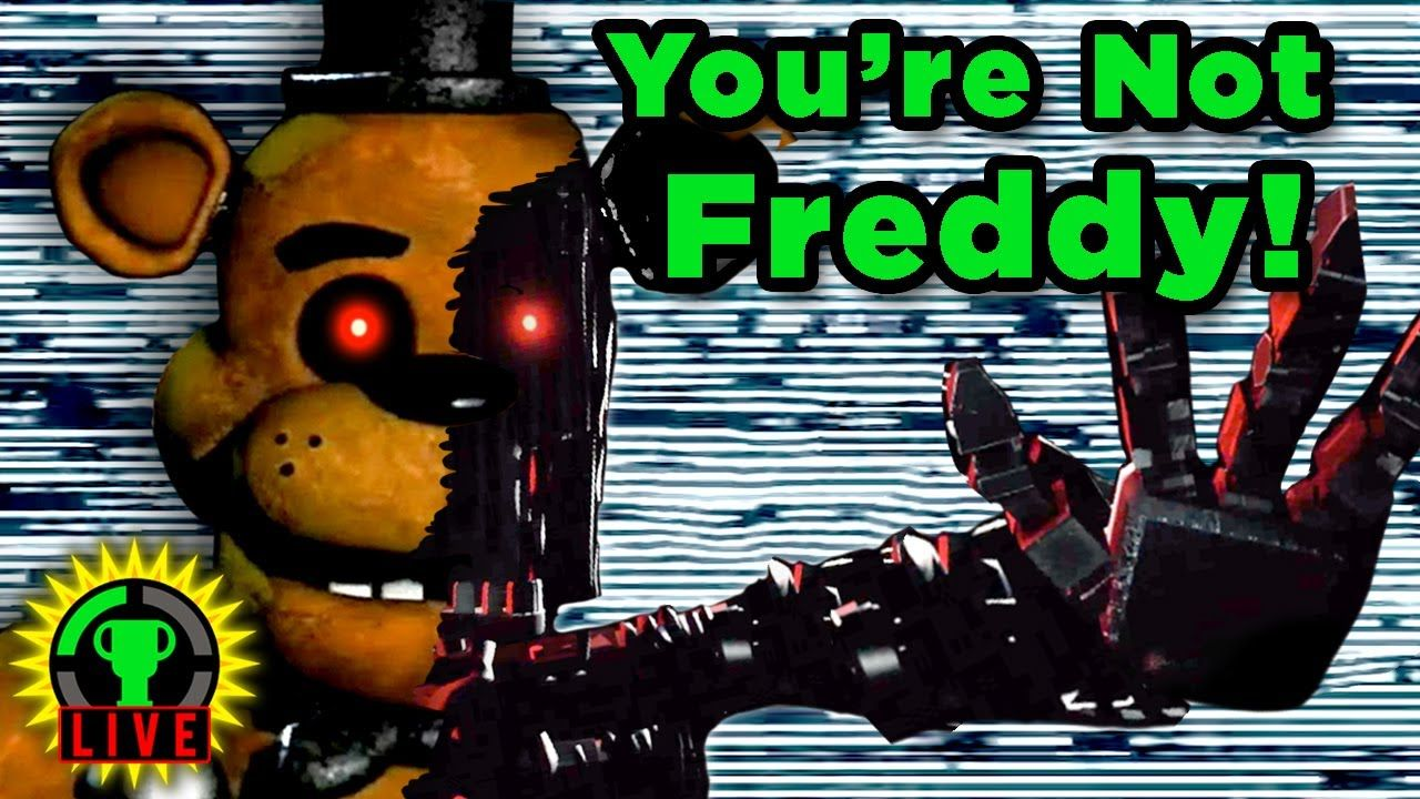 GTLive: FNAF WILL BURN! | Joy of Creation: Story Mode (TJOC