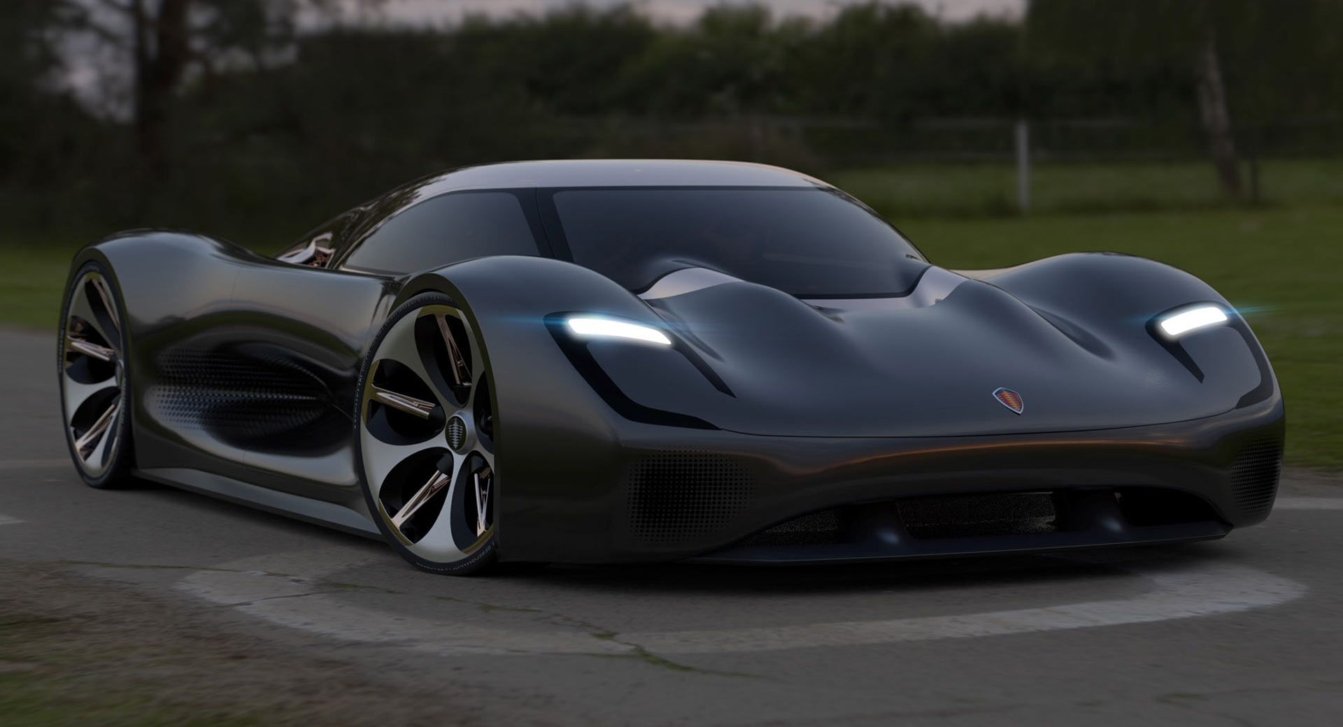 A Koenigsegg designed by a Mitsubishi designer turns out to be a thing of beauty.