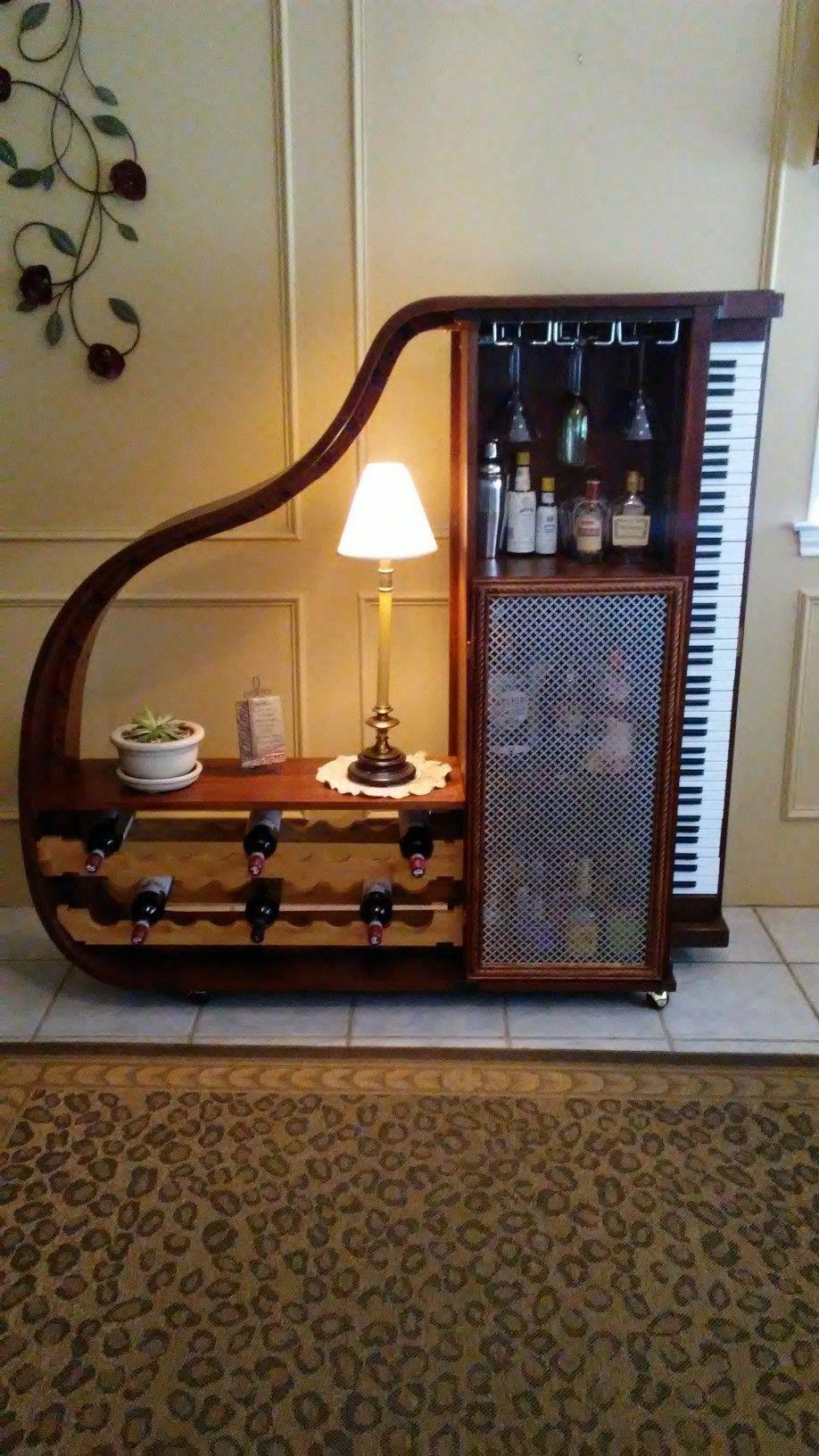 Piano Bar Per Casa repurposed piano into a bar | idea furniture store