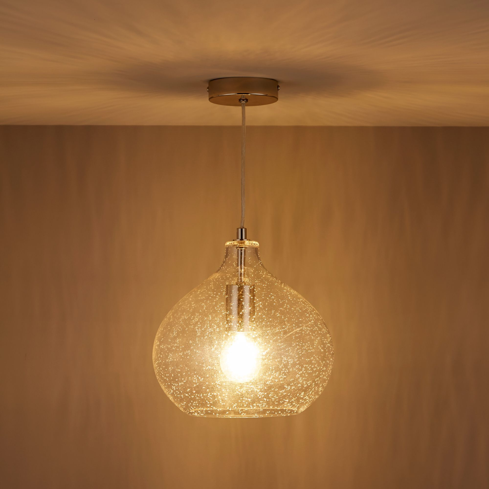 Hester bubble glass pendant ceiling light glass pendants hester bubble glass pendant ceiling light aloadofball Choice Image
