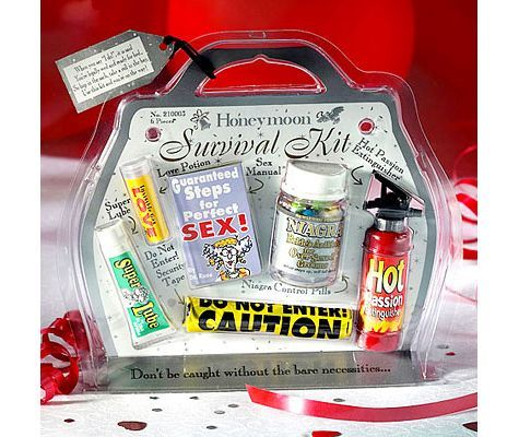 Prepare For Any And Every Emergency With This Honeymoon Survival Kit Which Offers The Bare Necessities