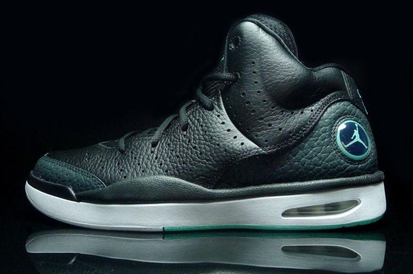 eba5ac918e5 Nike Air Jordan Flight Tradition Black Hyper Turquoise