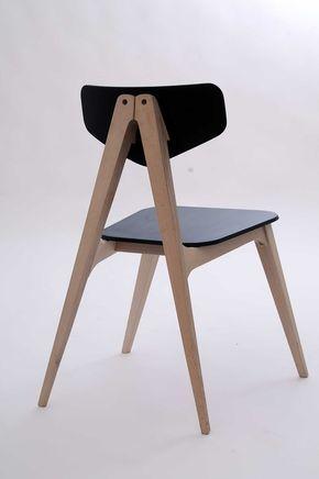 Molletta Chair: A Chair Inspired by Wooden Clothespins by Hagar Bar-Gil - Design Milk