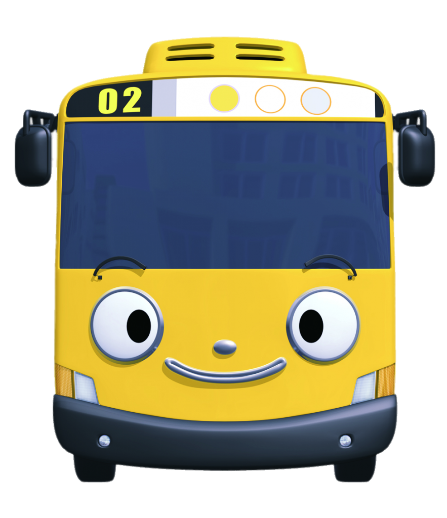 Tayo the Little Bus character Lani smiling   Tayo the little bus ...