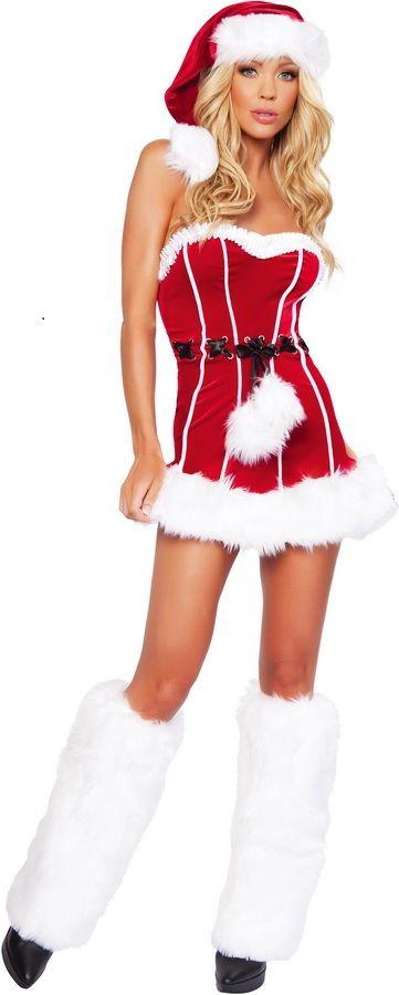 Buy Naughty Santa Sexy Christmas Costume Mrs. Claus Costume Dress - Buy Naughty Santa Sexy Christmas Costume Mrs. Claus Costume Dress