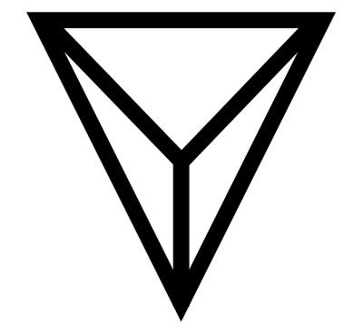 Dragons Eye Ancient Germanic Symbol Combines Triangle Meaning
