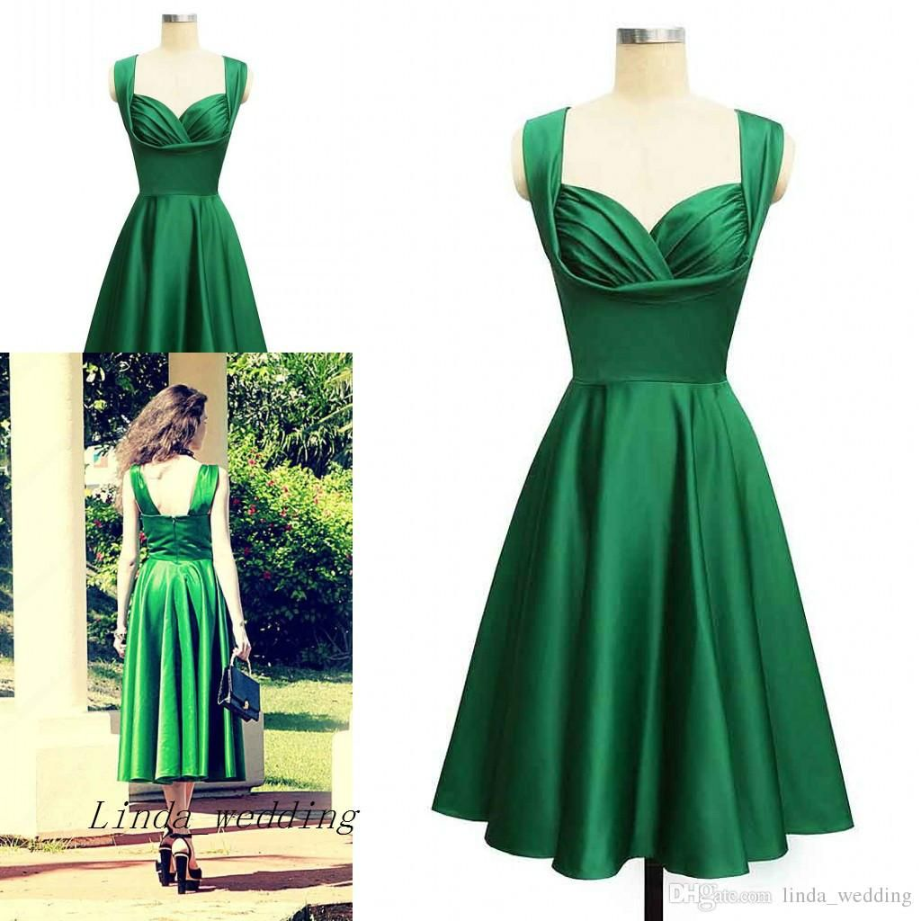 Image Result For 1950s Cocktail Dress Emerald Green Cocktail Dress Green Cocktail Dress Cheap Short Prom Dresses [ 1024 x 1024 Pixel ]