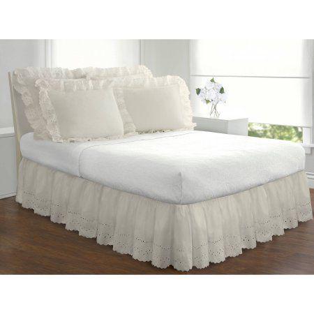 19 88 Levinsohn Eyelet Ruffled Bedding Bed Skirt