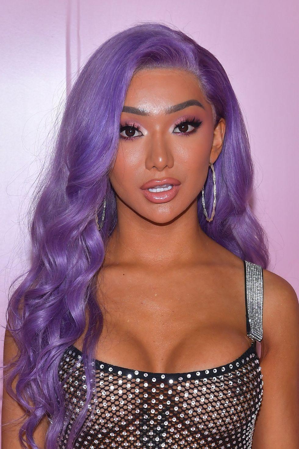 Nikita Dragun Purple Hair Pastel Purple Hair Lavender Hair Purple Hair