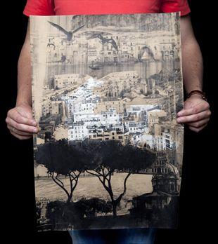 Annemijn Filius #silk-screen print #poster #city
