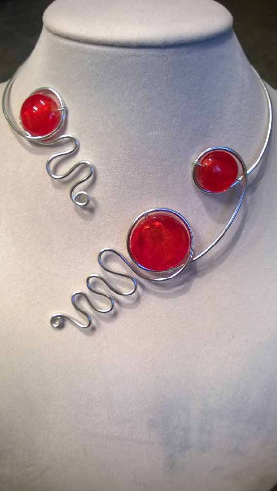 FREE GIFTAluminium wire jewelry Modern jewelry Statement