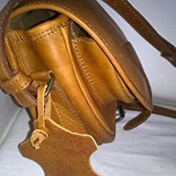 03704b8683 LE BOHÉMIEN Naturel petite besace en cuir style bohème bandoulière réglable  PAUL MARIUS, Marron,