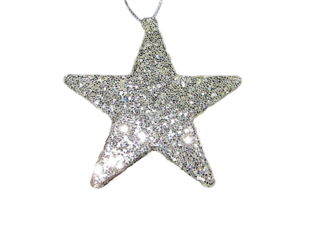 Stern Engel Baum Fensterdeko Weihnachtsdeko Glitter