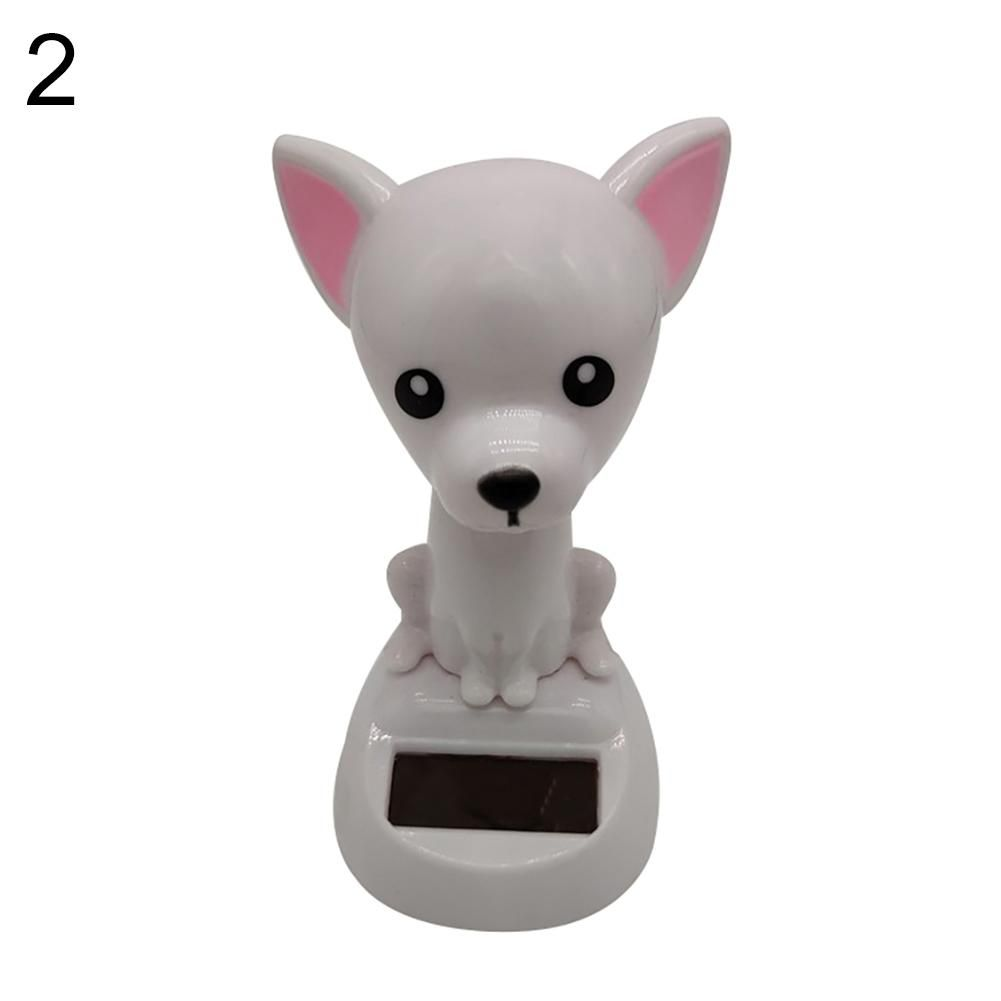 Photo of Solar Power Dancing Dog Shape Car Dashboard Interior Ornament Home Decoration – as the picture r