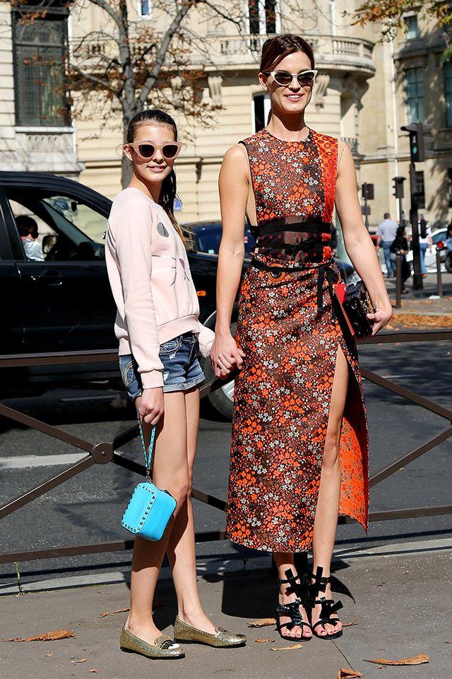 that dress is ace. #Hanneli in Paris. #HanneliMustaparta