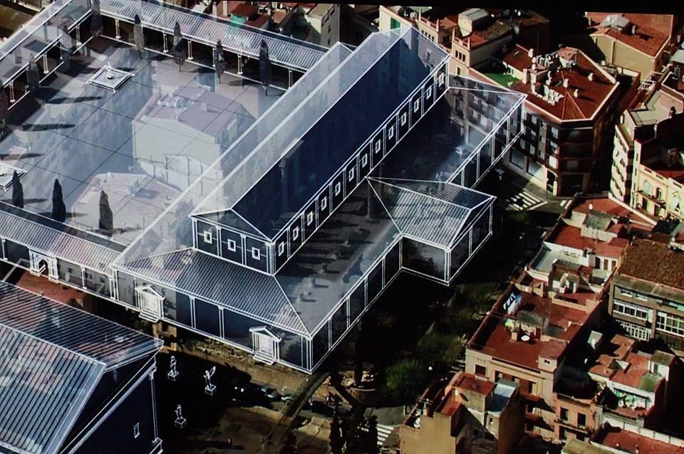 """Un moment de la sèrie documental """"Ingeniería romana"""", de La 2 de TVE, reconstrucció virtual de Fòrum de la Colònia. / Fotograma: ©Pere Toda-Vilaniu Comunicació"""