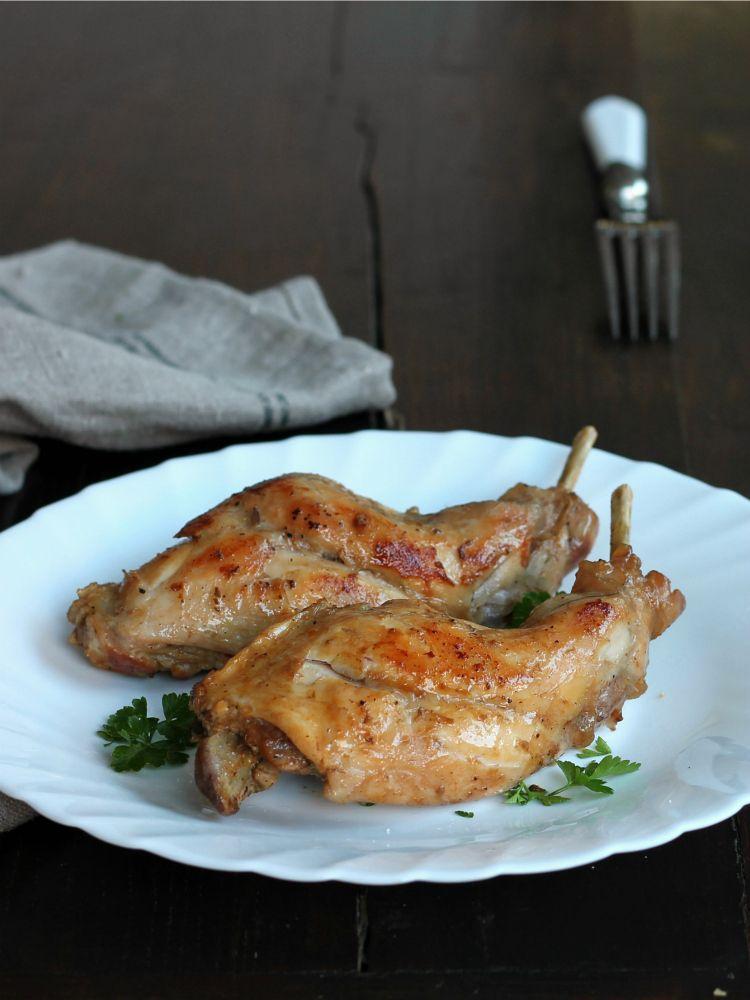 coniglio al forno per dieta