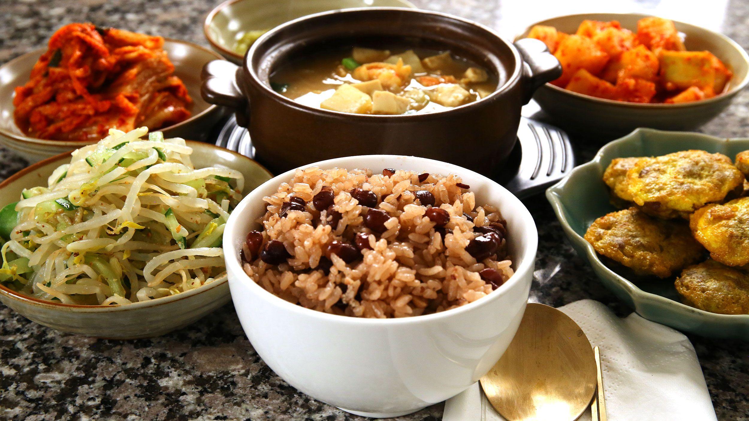 Patbap recipe rice beans and korean food recipes meals forumfinder Choice Image
