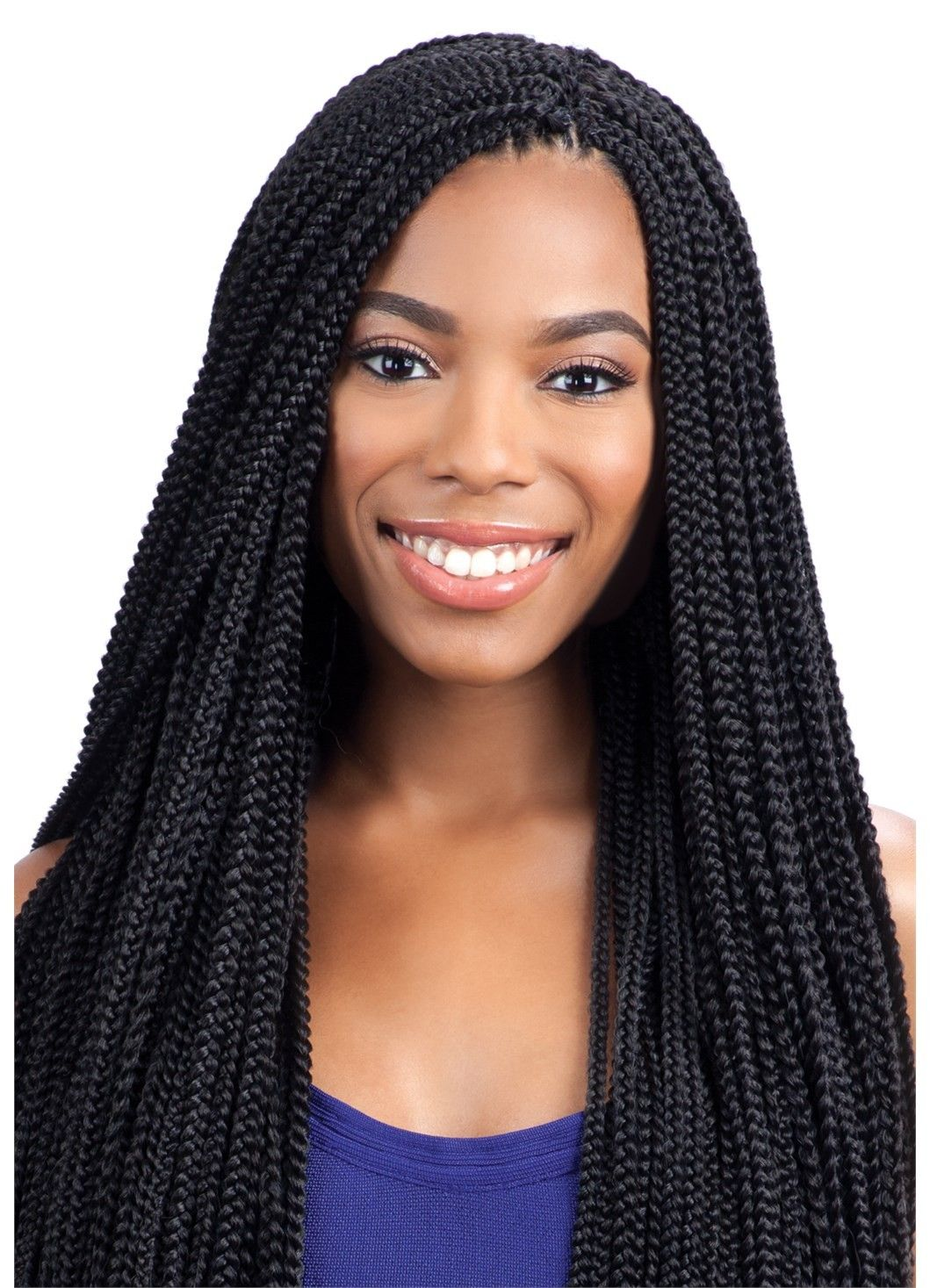 Model Model Glance Crochet Braid LONG SMALL BOX BRAID