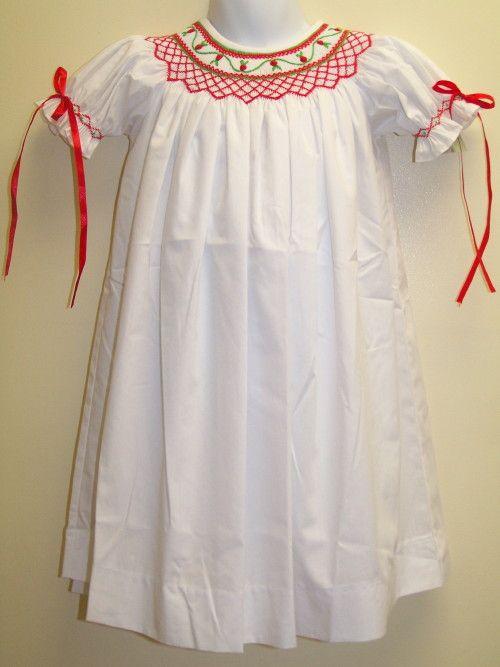 Girls Smocked Ribbon Dress | Children's Clothes | Pinterest ...