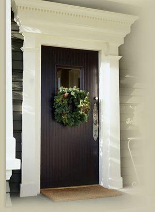 Wreath Hangers For Wide Doors Over The Door Christmas Hanger Clever Decorations