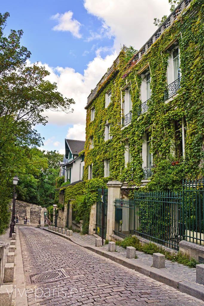 Montmartre - El barrio de los pintores de París #paris #travel #viajes #turismo www.viveparis.es