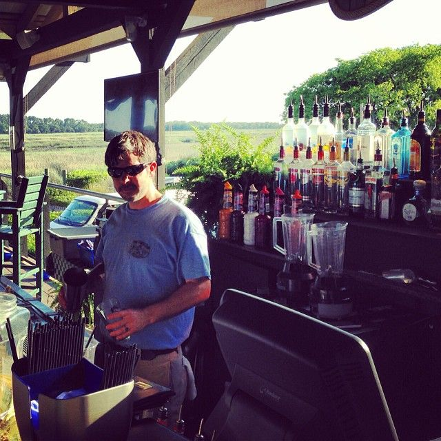 Come see Jason and help ring in the outside bar season!  Live music all summer long!!! #crazycrab #outsidebar #waterview #hiltomheaisland
