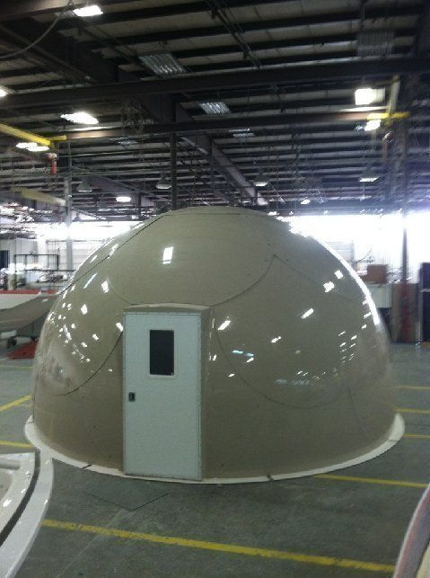 Emergency Pop Up Shelter : Prefab dome shelters pop up anywhere for immediate