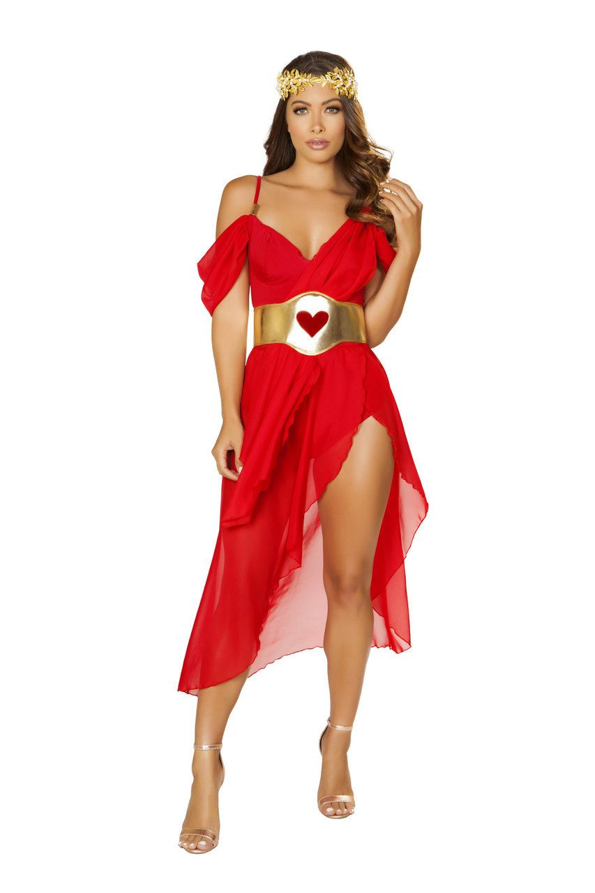 af654dc1c3c Sexy Roma White Gold Golden Goddess of Love Roman Greek Grecian Fantasy  Cosplay Fancy Halloween Party Costume Small Medium Large