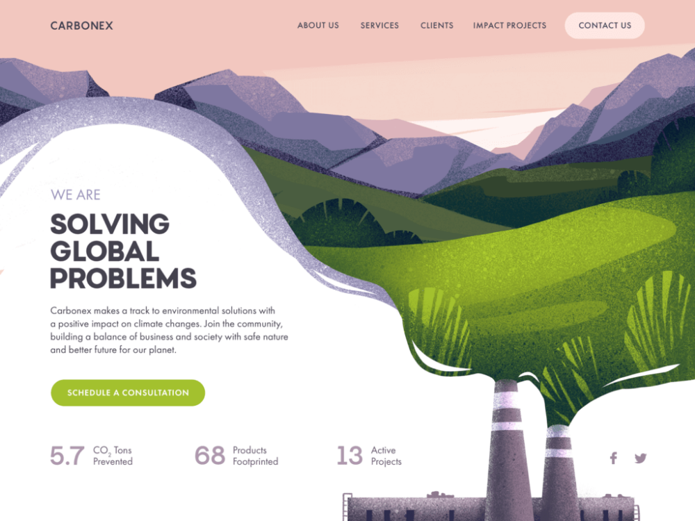 Web Design: 26 Examples of Creative Landing Pages