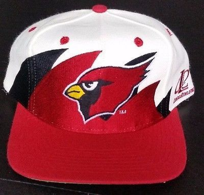 Arizona Cardinals Vintage Snapback Logo Athletic Double Sharktooth Hat NFL  Logo7 0c0238f8d74d