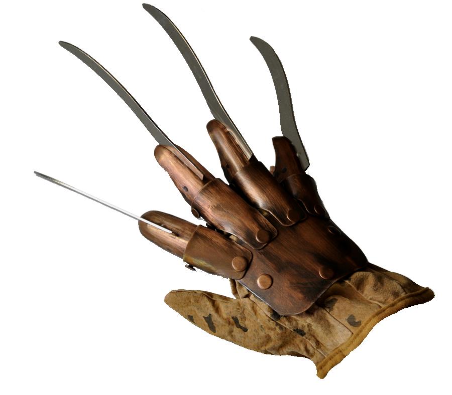 Realistic Movie Masks Action Figures Halloween Horror Masks Metal Glove Horror Masks Freddy Krueger