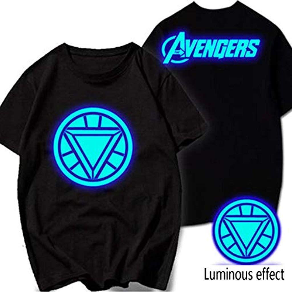 Per Bambini Ragazzi Personaggio Avengers Marvel T-Shirt Top-Capitan America Iron Man