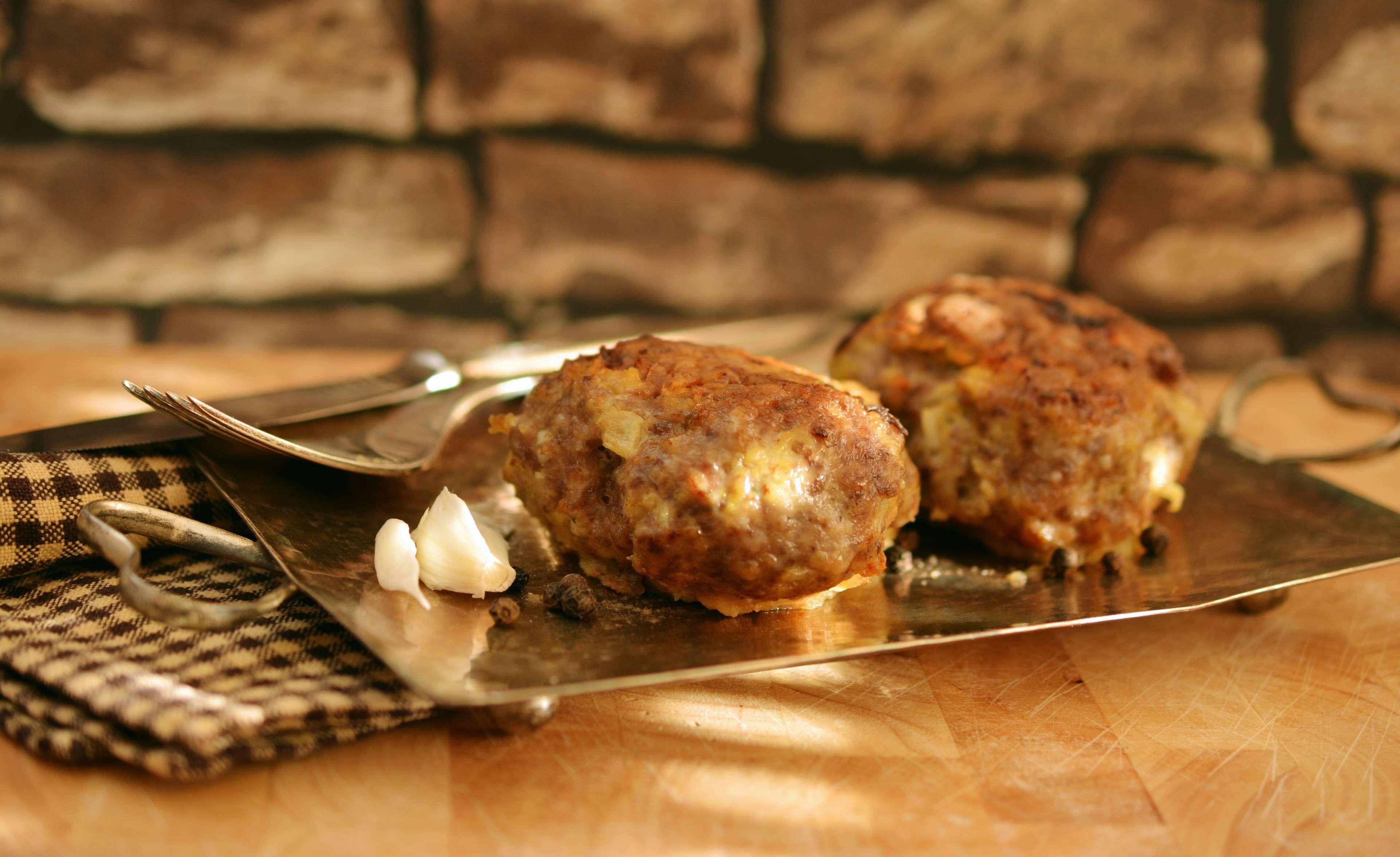 coleslaw, cook, fried, meat, meat balls, meat dumplings