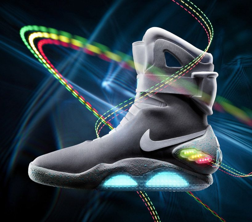 Nike's 'Back to the Future' self lacing basketball shoes