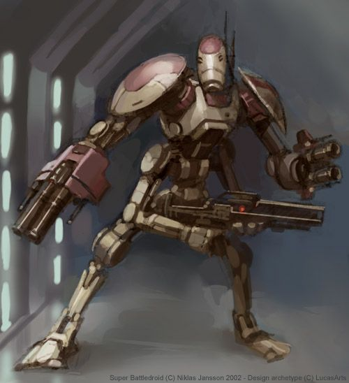 The Rm 2 Battle Droid Is A Remake Of The Old Separatist B1 S Used