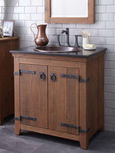 Farmhouse Vanity Google Search Single Sink Bathroom Vanity Rustic Bathroom Vanities Light Fixtures Bathroom Vanity
