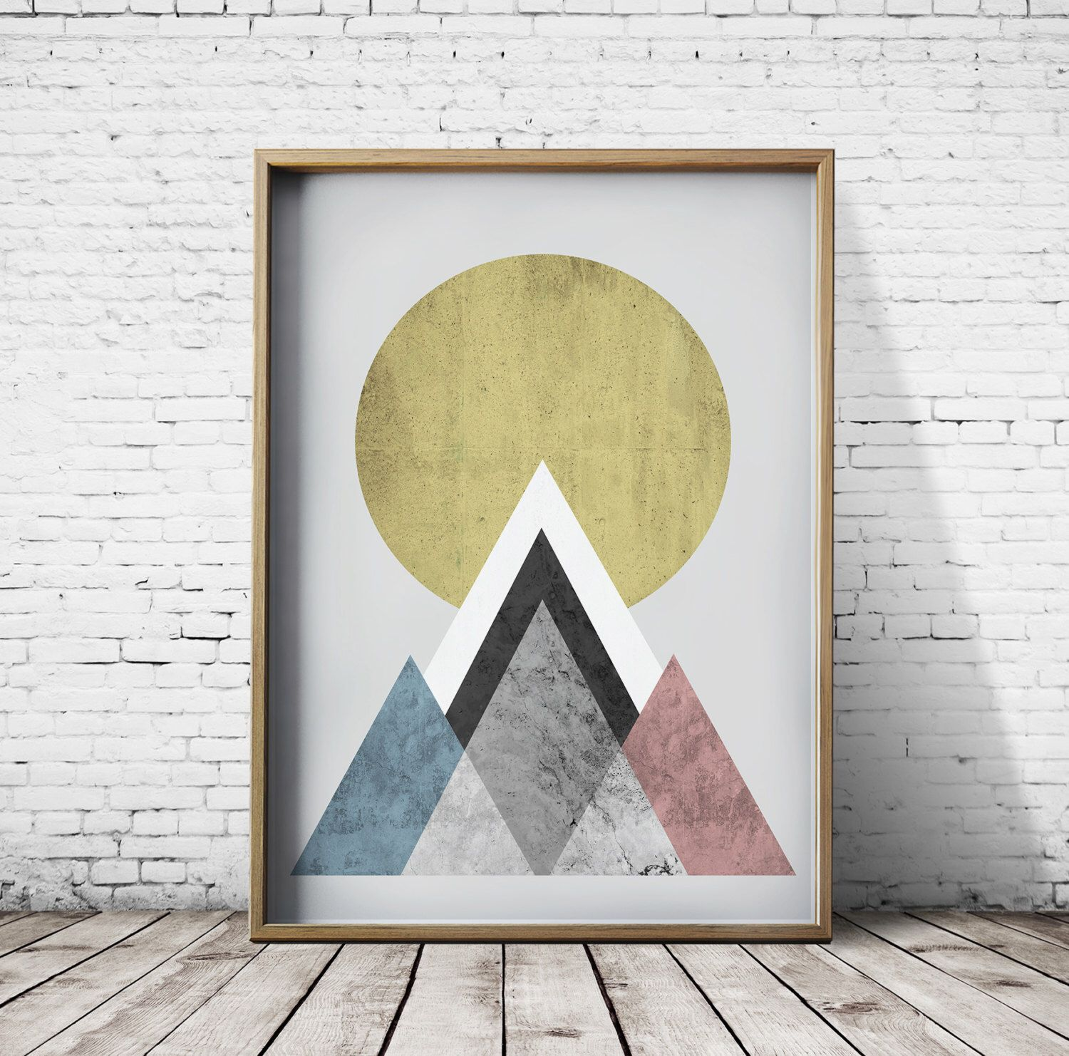 Sun Print Wall Art Prints Mountain Print by CosmicPrint on Etsy ...