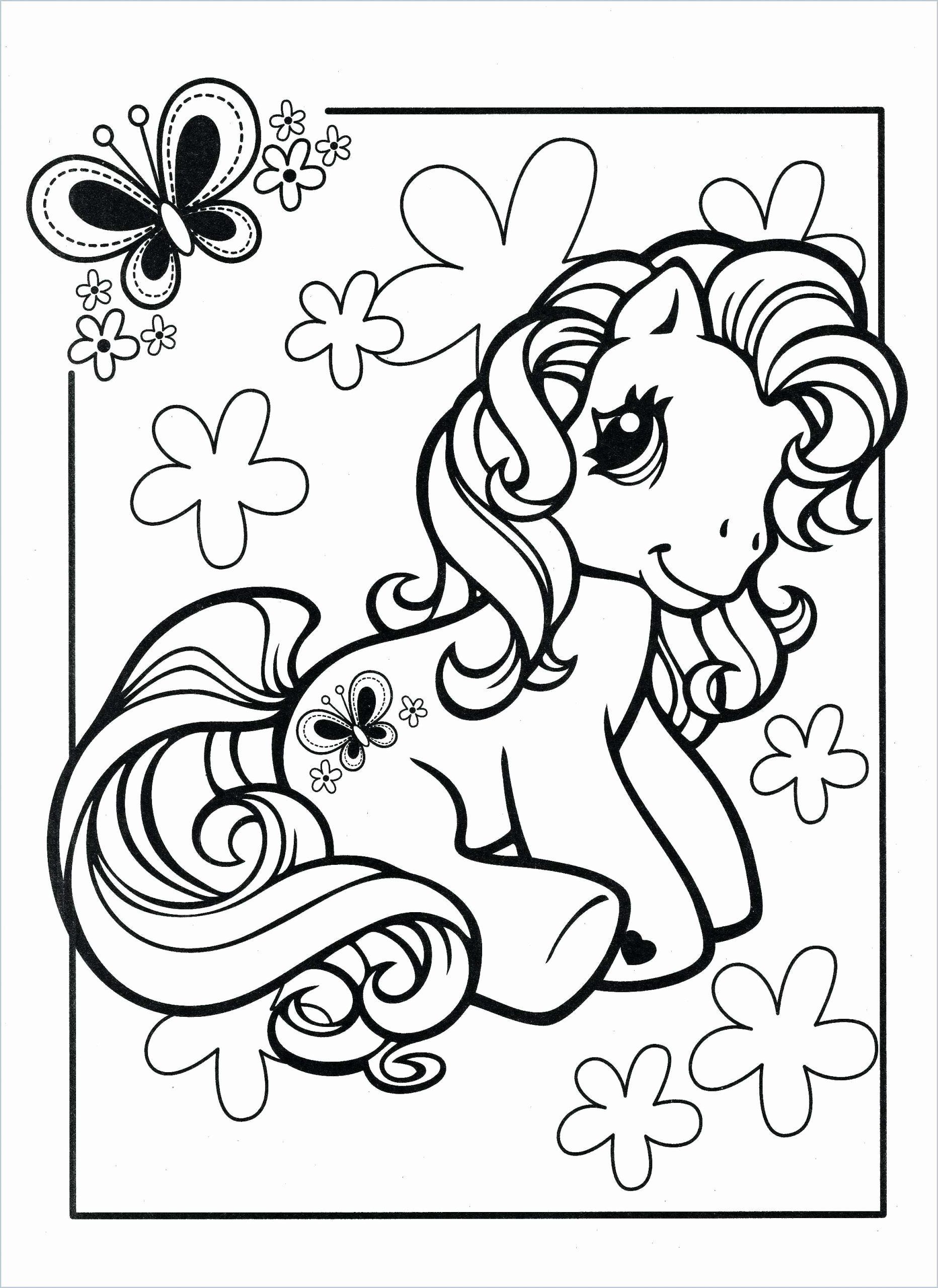My Little Pony Easter Coloring Pages Background